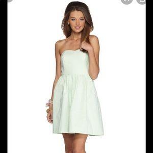 Lilly Pulitzer Richelle Seersucker Dress Size 8